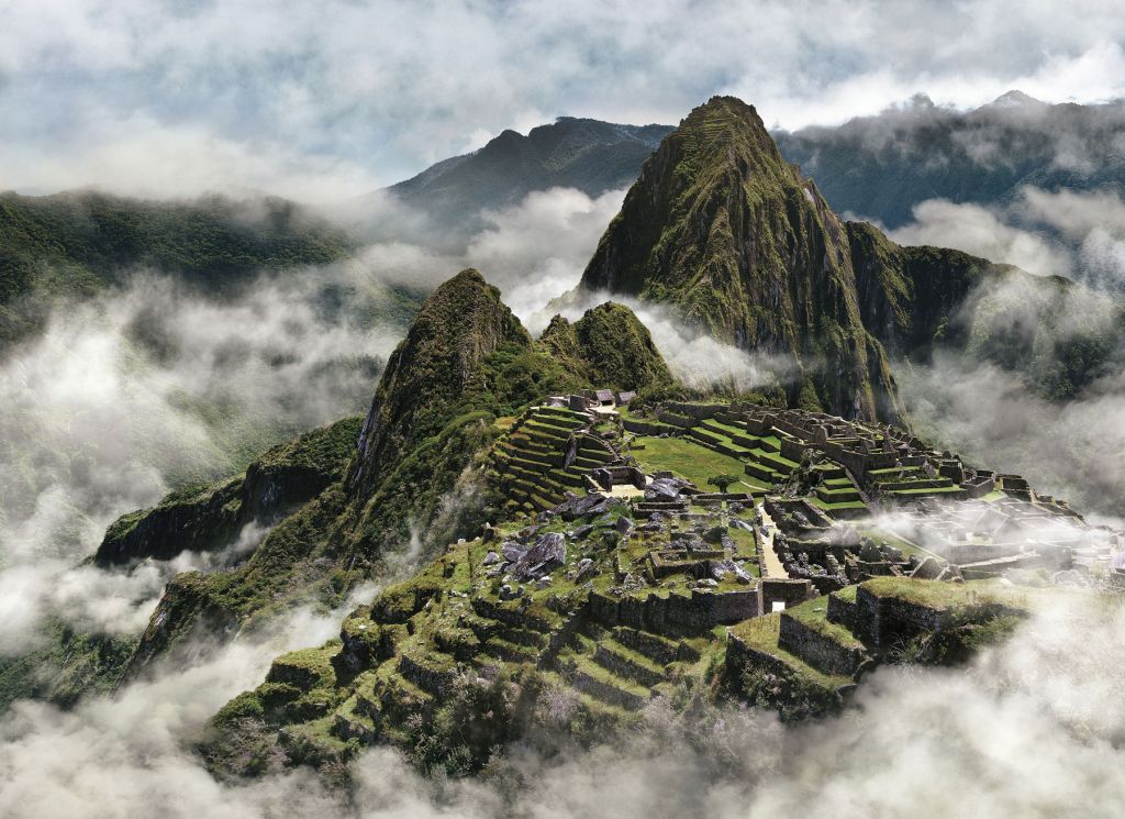 Peru Mountains and Clouds