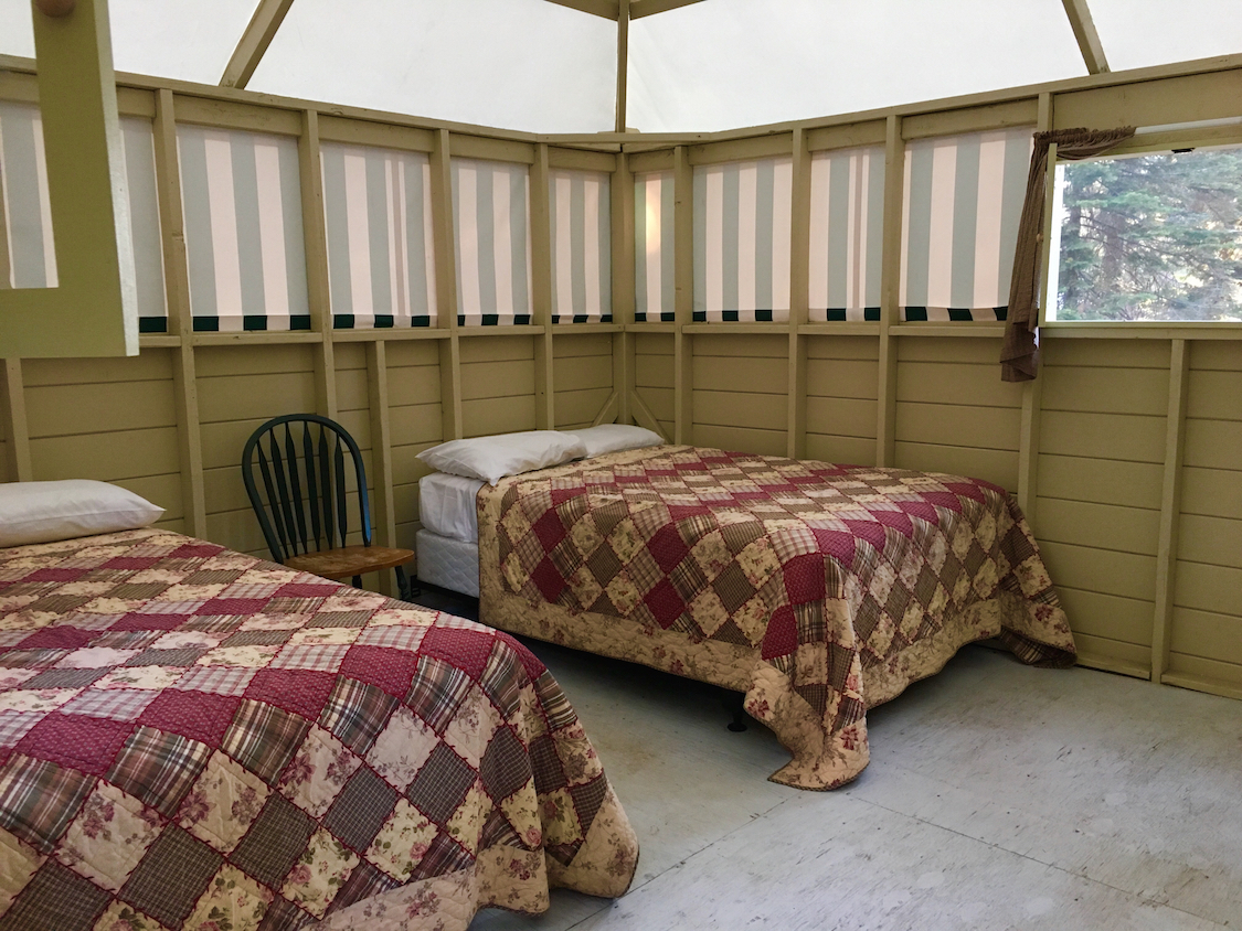 Beds in a cabin
