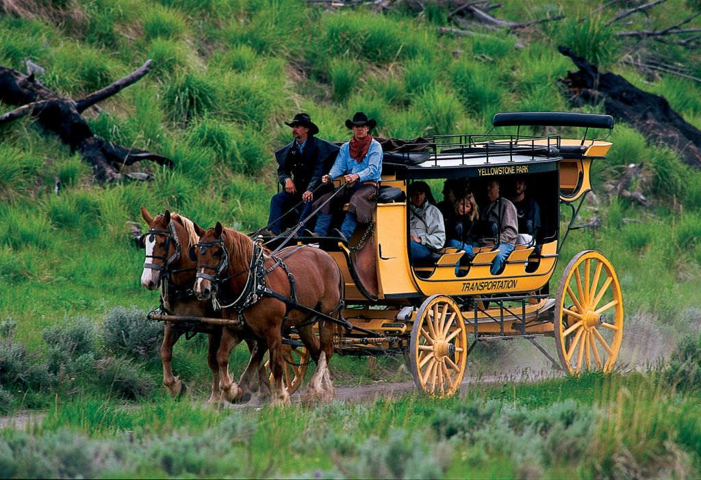 Yellowstone National Park Lodges Stage Coach Ride