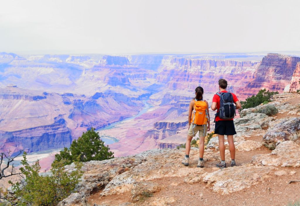 People in Grand Canyon