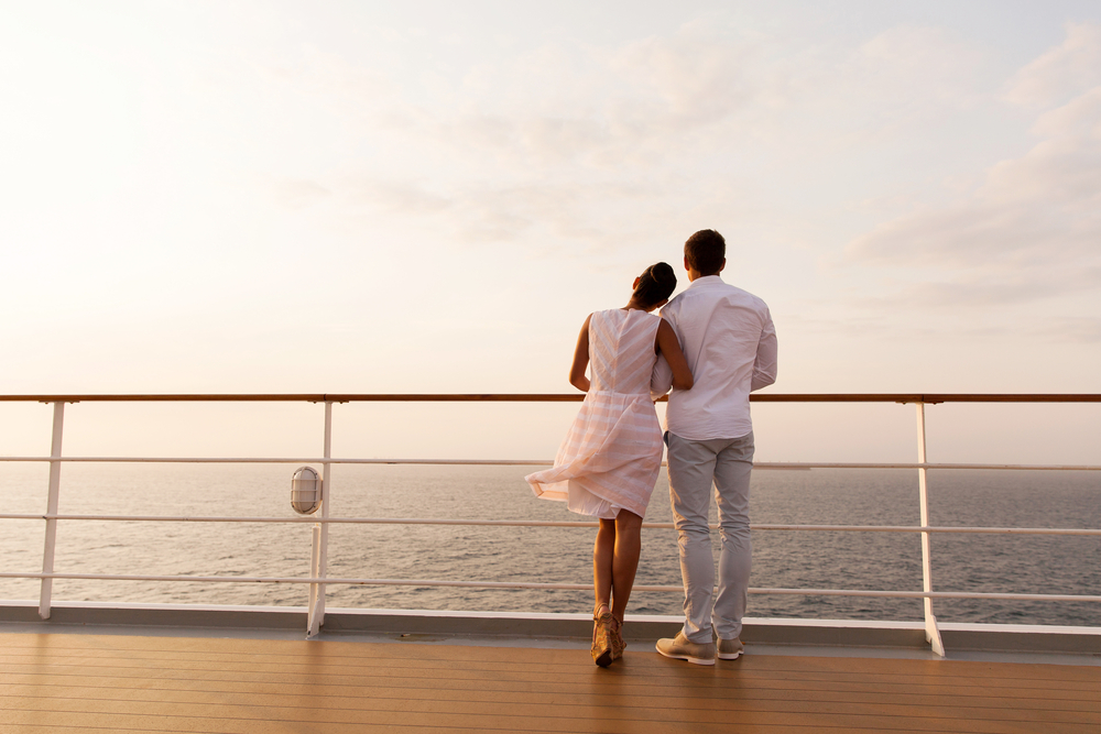 Couple on Ship Deck